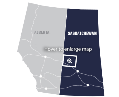 Core Areas - Saskatchewan